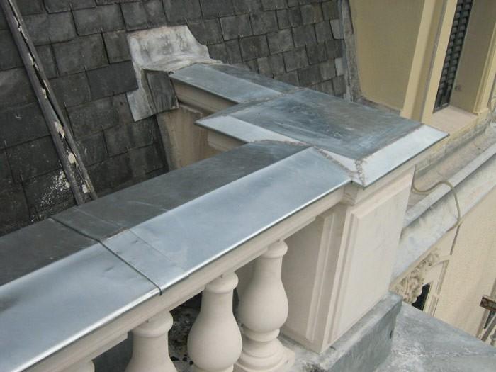 Couverture zinguerie descente eau pluviale zinguerie 69 for Descente eau pluviale zinc